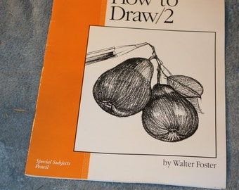Supplies on How to Draw, by Walter Foster, Special Subjects, This book is for Pencils all type, Updated Edition All of his books are listed