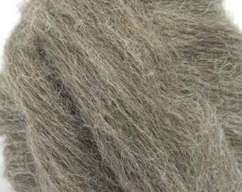 Undyed Grey/Gray Finnish Wool Combed Top/Roving by the Ounce or by the Pound