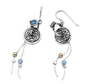 October Birthstone ,October earrings ,Opal earrings, Opal Birthstone earrings, Opal minimalist earrings, Opal dainty earrings