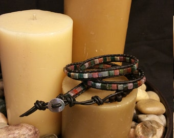Triple Wrap Chan Luu Style Bracelet