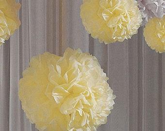 Wedding Venue Decoration Tissue Paper Peonie Flowers 50cm-pack of 2