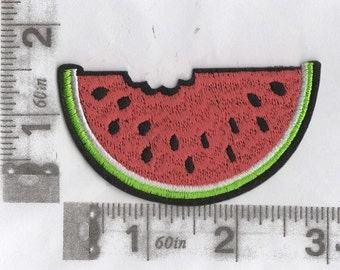 Big sweet and juicy watermelon iron on patch