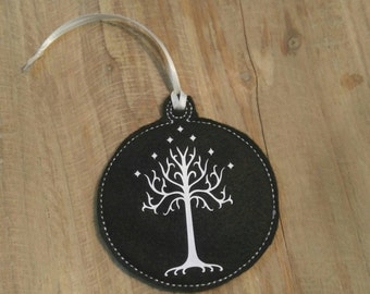 Tree of Gondor Lord of the Rings Ornament