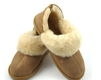 Women's Sheepskin Slippers - 100% Sheepskin from Australia