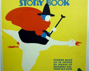 Hales Poster Builder Story Book Children's 1926