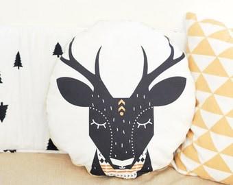 TWINKLE TWINKLE deer pillow *christmas special*