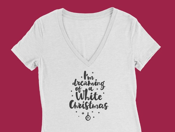 Dreaming of a White Christmas, Merry Christmas, Merry Christmas T-Shirt, Christmas Tee, Holiday tee, christmas tee, White Christmas