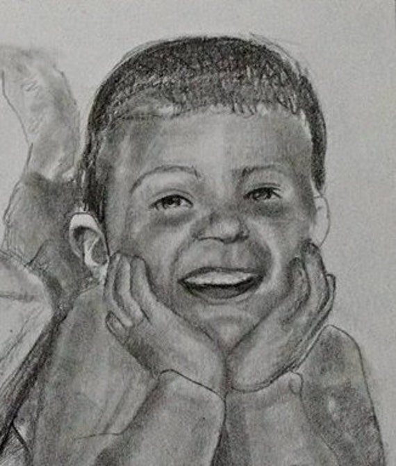 Custom portrait drawing from your photo. Your memories come to life again in Nica's exquisitely detailed portraits.