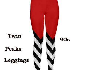 Twin peaks pattern Leggings, tights, fashion, Fun, Pattern, tights, leggings, Twin peaks,cult, 90s tv, 90s cult TV