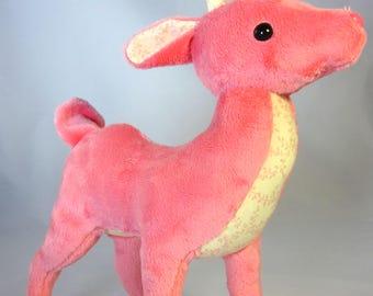 Spring Pink Deer