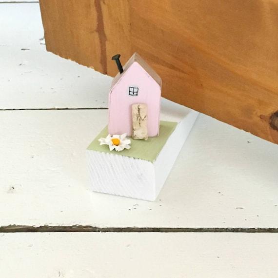 House Door Stopper Door Decal Door Stop Door Wedge Wood