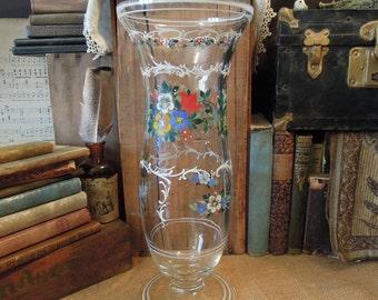 Lead Crystal Glass Vase Antique Lead Crystal Cut Glass Vase