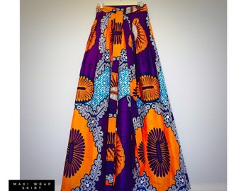 Wrap Skirt [Maxi Length Options]