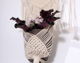 Natural Cotton Macrame Plant Hanger