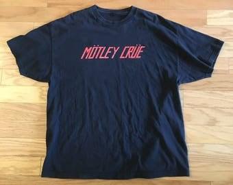 Motley Crue Logo T Shirt