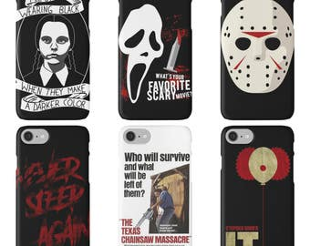 Horror Movies / Tough silicone phone case / iPhone 6, 6s, 6 Plus, 7, 7 plus