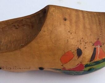 Vintage  Holland Wooden Shoe