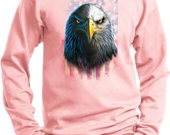 Men's Eagle Stare Sweat Shirt 20412D0-PC90