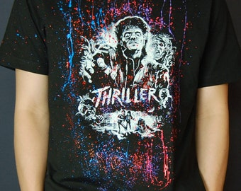 Michael Jackson Thriller T-Shirts for Men