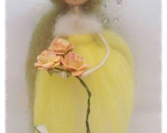 Flower Fairy, Fairy Doll, Flower Faery, Fairy,  Fairy Gift, Gift,