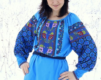 Thread Embroidery Embroidered Blouse National Clothing