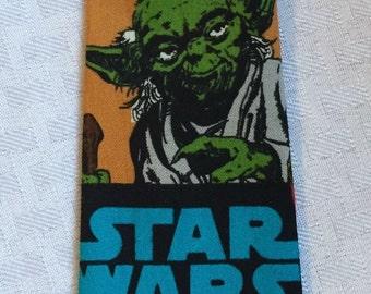 Star Wars boys clip on tie, boys star wars tie, StarWars tie, glow in the dark tie