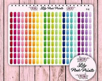 198 Pills / Medication / Vitamin Stickers P-16 - Perfect for Erin Condren Life Planners / Journals / Stickers.