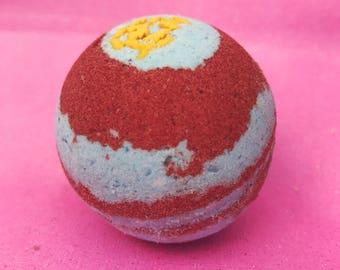Rainbow Dash's 20% Cooler Blue Raspberry/Cherry Scented Bath Bomb