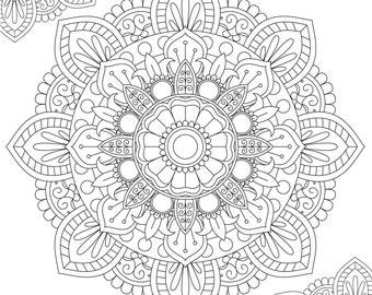 Mandala Coloring Page - Printable Coloring Pages - 02