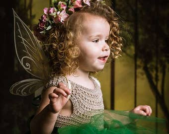 Pixie Hallow, Vidia Inspired Fairy Wings - Made to Order