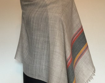 Folklorica Pure Pashmina Handwoven 100% Cashmere Stole Shawl Scarf Wrap