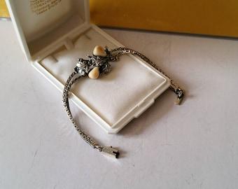 Costume jewelry bracelet Grandeln 925 Silver hunting handmade SA122