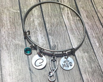 Doctor Gift - Gift For Doctor - Graduation Gift - Doctor Bracelet - Medical School Gift - Doctor Gifts - Doctor Graduation