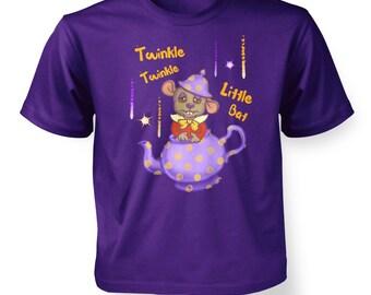 Twinkle Twinkle Dormouse kids t-shirt