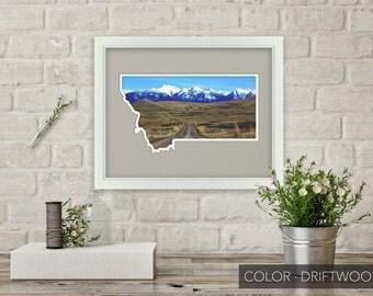 Montana Photo Map