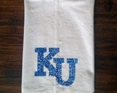 KU Words Tea Towel
