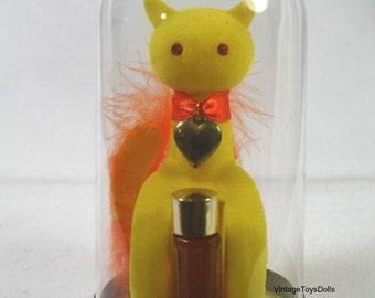 Vintage Max Factor Sophisti-Cat Perfume MIB Golden Woods