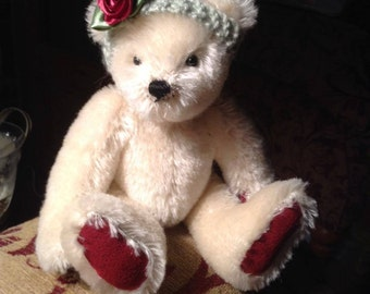 "Rosa, a 7"" limited edition hand made collectors' bear"