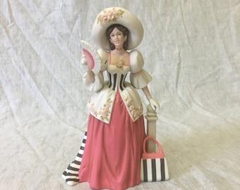Vintage Avon 1994 Mrs. Albee Award, Victorian Lady Figurine