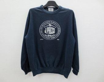 J Press Sweatshirt Vintage J Press Pullover Made in Japan Men Size S/M