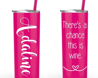Theres a chance this is wine tall tumbler