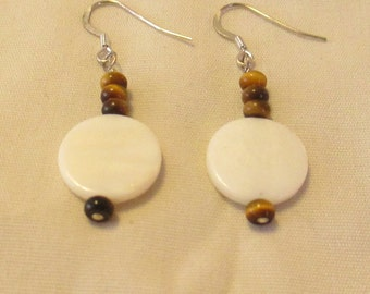 Tiger's Eye and Mother of Pearl