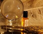 OVATION, natural perfume oil,  Moroccan Rose, Palo Santo, Amber, Cardamom,  botanical perfume, organic perfume, natural perfume