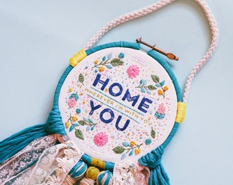 Home | Hand Embroidered Wall Decor