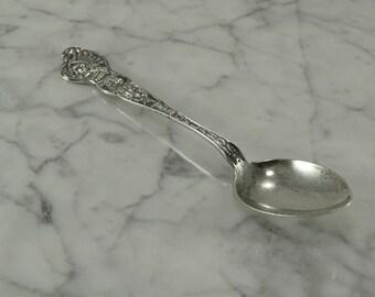 Sterling Silver Oklahoma Souvenir Spoon