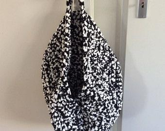Crochet storage bag