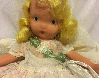 Tuesday's Child is Full of Grace Nancy Ann Srorybook Doll