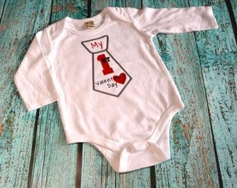 1st Valentine Onesie 1st Valentines Shirt Boys Valentine Shirt Baby Boys Valentine Boys 1st Valentine Babys 1st Valentine 1st Valentine Baby
