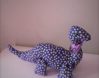 polka dot dinosaur