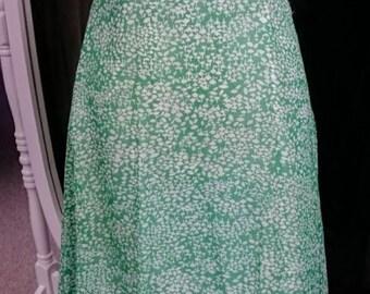 Vintage 1960s Maxi Dress